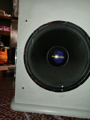 Techwood Pro Audio 15 for Sale in Dallas, TX