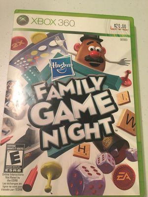 Hasbro Family Game Night Xbox 360 @VGs! for Sale in Austin, TX