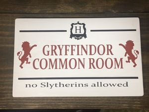 Custom Made Wood Gryffindor (Slytherins) Sign for Sale in Harrodsburg, KY