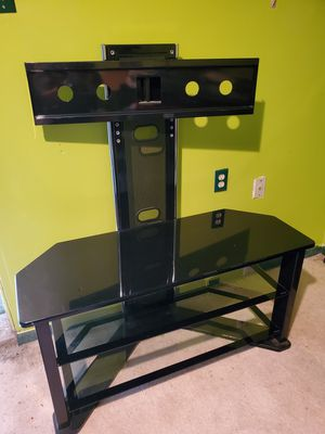 Glass t.v stand for Sale in Los Angeles, CA