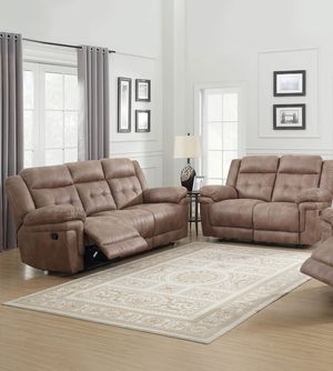 Sofa and love seat both with recliners ($39 DOWN) for Sale in Eagle Lake, FL