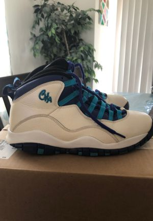Air Jordan 10 Charlotte's Size 8.5 Used for Sale in Dupo, IL