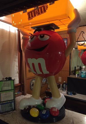 "m&m 40"" collectible statue figurine for Sale in Seattle, WA"