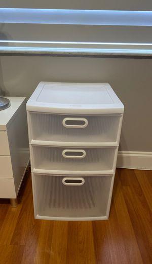 Plastic drawer storage for Sale in Miami, FL
