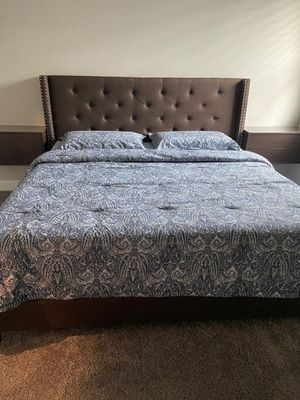 King size bed frame for Sale in Marble Falls, TX