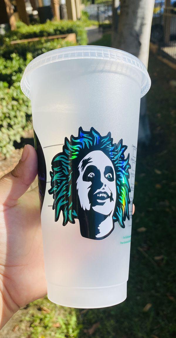 Beetle juice Starbucks cup