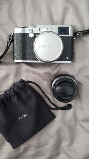 Fujifilm X100T Digital Camera + Wide Conversion Lens for Sale in Corona, CA