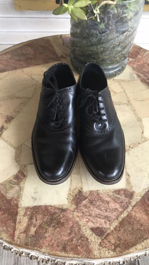 Cole Haan Black Leather Saddle Colton Oxfords for Sale in San Antonio, TX