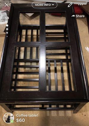 Coffee table! for Sale in Roanoke, VA