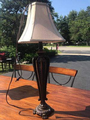 Set of two antique lamps for Sale in Troy, MI