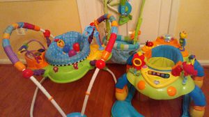 3 Baby things,baby waker,jumper, for Sale in Gaithersburg, MD