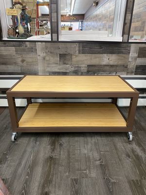 Wood/Metal Portable Table for Sale in Eagle River, WI