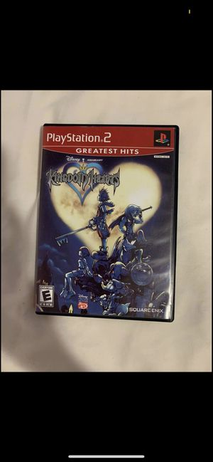 Kingdom Hearts 1 PS2 Game for Sale in Pasadena, TX