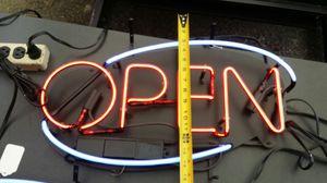 Neon open sign for Sale in Everett, WA