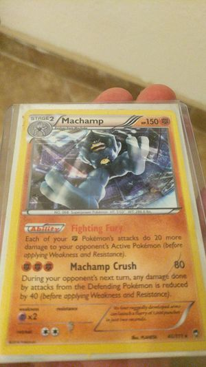 Mint condition Machamp Stage 2 Holographic Pokemon card for Sale in Scottsdale, AZ