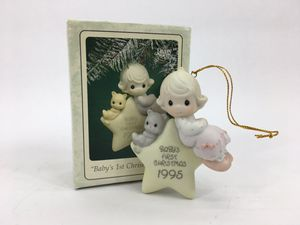 """Enesco Precious Moments """"Baby's First Christmas"""" Ornament (1995) for Sale in Trenton, NJ"""