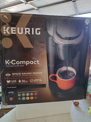KEURIG K-Compact single serve coffee maker $45 for Sale in Moreno Valley, CA