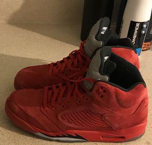 Jordan retro 5 red size 12 for Sale in Portland, OR