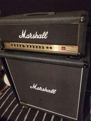 "Marshall 2000 AVT50H HYBRID PRETUBE GUITAR AMP & Marshall JCM900 1960Lead 4x12"" 300Watt CAB for Sale in Rancho Santa Margarita, CA"
