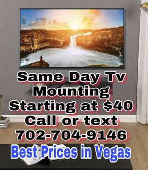 Same Day Professional Tv Mounting for Sale in Henderson, NV