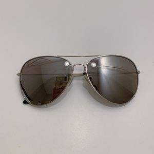 Silver Mirrored Aviator Sunglasses for Sale in Seattle, WA