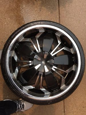 Black Ice Rims 22' for Sale in Grayslake, IL