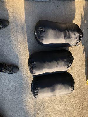 3 Black Coleman Sleeping Bags for Sale in Altadena, CA
