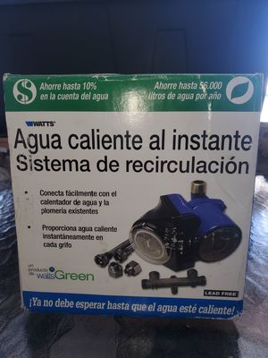 INSTANT HOT WATER RECIRCULATION SYSTEM for Sale in BVL, FL