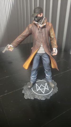 Watch Dogs Aiden Pearce collectible figurine for Sale in Rolling Meadows, IL
