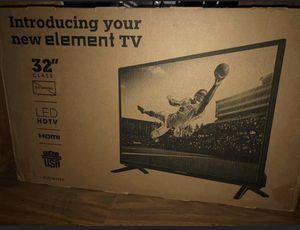 New in box element 32in led hd tv for Sale in Berwyn, IL