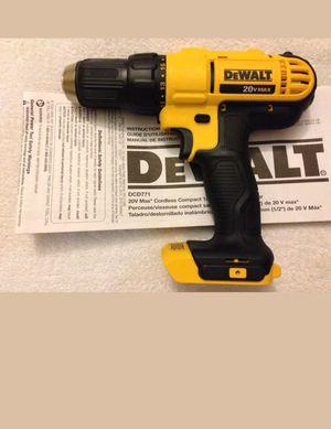 Dewalt 20v only dril for Sale in Manassas, VA