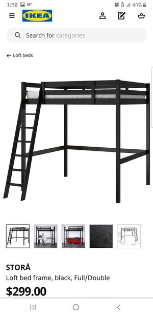 IKEA Stora Loft Bed Frame (4 pics) for Sale in Pflugerville, TX
