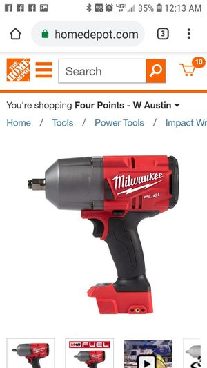 Brand new in box. Milwaukee M18 FUEL 18-Volt Lithium-Ion Brushless Cordless 1/2 in. Impact Wrench with Friction Ring (Tool-Only) for Sale in Austin, TX