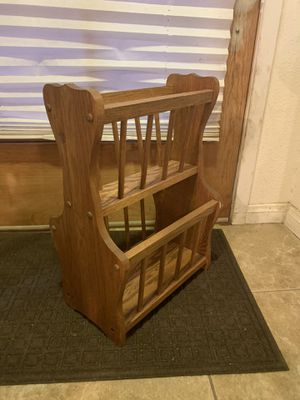 Two Tier Magazine Rack for Sale in Fullerton, CA