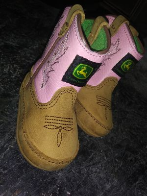 Baby John Deere Cowgirl Boots for Sale in Lutz, FL