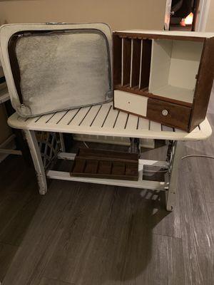 Farmhouse Antique Shelf & Suitcase left for Sale in San Antonio, TX