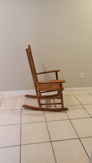 Wooden Rocking Chair for Sale in Lithia, FL