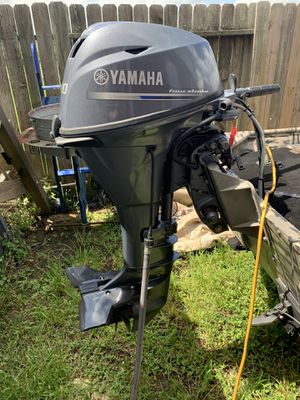 2017 Yamaha f20 low hours for Sale in Baytown, TX