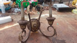 Antique 2 lamp wall fixture for Sale in Concord, NC