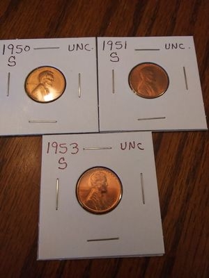 1950s wheats uncirculated for Sale in York, SC