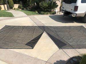 16'x7' Garage Door Netting w/ weighted bottom & magnetic closure for Sale in Alta Loma, CA