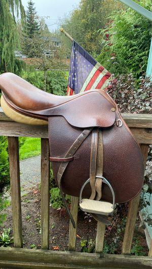 Collegiate English saddle for Sale in Snohomish, WA