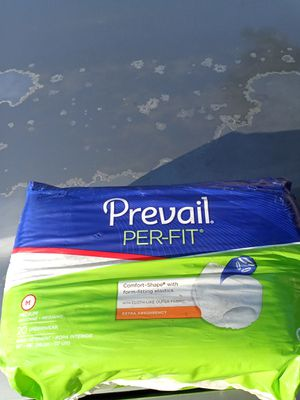 Prevail adult diapers size medium for Sale in Los Angeles, CA