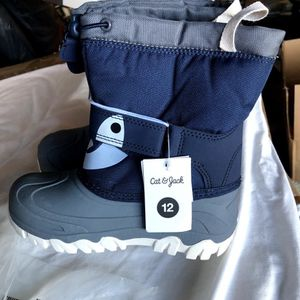 Cat And Jack Blue Children's Snow Boots Sz. 12 for Sale in Ontario, CA