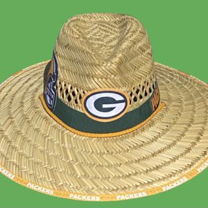 Green Bay Packers straw hat (Great Gift 🎁) Same Day Shipping If Paid By 3pm (I Also Have Other Team's) for Sale in Tampa, FL