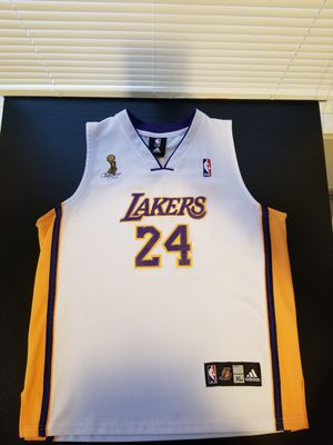 Adidas Auth Stitched 2009 Rare Championship Finals Limited Edition Kobe Bryant 24 Jersey Please READ $250 Kids XL but fits Womens S/M Mens for Sale in Los Angeles, CA