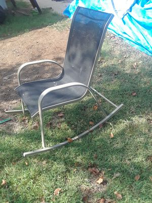 Outside rocking chair $25.00 cash only for Sale in Dallas, TX