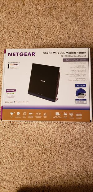 Netgear DSL WIFI router for Sale in Mountville, PA