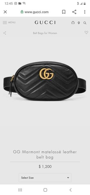 Beautiful authentic Gucci belt bag !!! for Sale in Commerce, CA