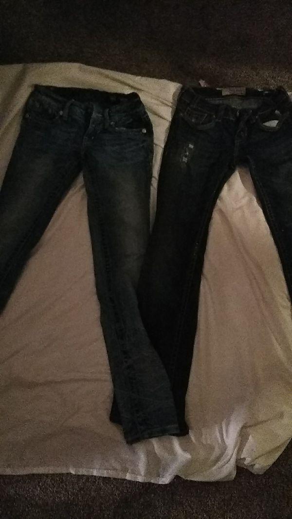 Miss me jeans size 25